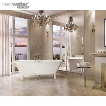 Clearwater Lonio Natural Stone Bath