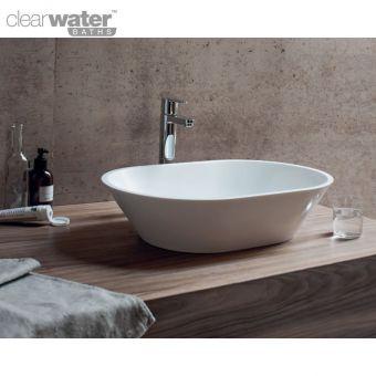 Clearwater Sontuoso Natural Stone Countertop Basin - B5E