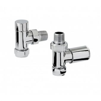 Zehnder Chromax Mixed Manual Radiator valves