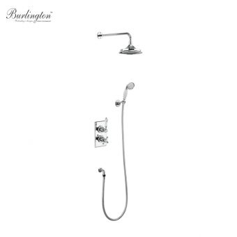 Burlington Trent Concealed Shower Kit with Diverter Valve