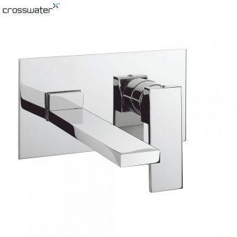 Crosswater Zion Wall Mounted Basin Mixer Tap