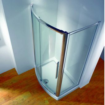 Kudos Original 1200mm Bow Fronted Sliding Shower Door