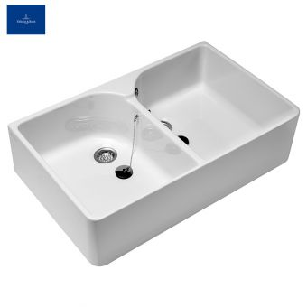 V & B Omnia Pro Double-bowl Sink 6331