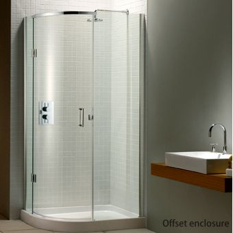 Quadrant Shower Enclosures With Single Double Doors From Leading Brands