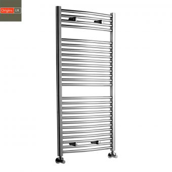 Origins York Curved Towel Warming Radiator