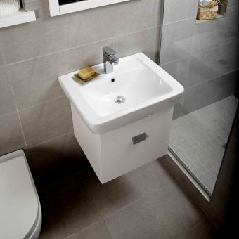Origins Square Vanity Unit with 550mm Basin