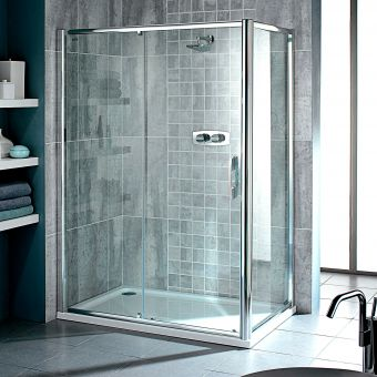 Showerlux Glide Single Sliding Shower Door