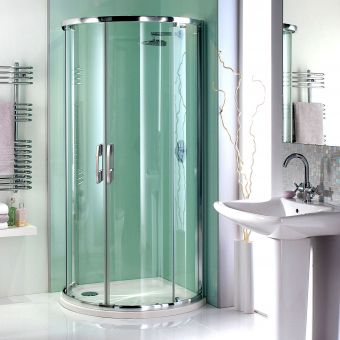 Showerlux Glide Maxi Twin Door Shower Enclosure