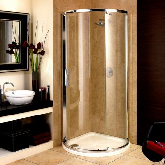 Showerlux Glide Maxi Single Door Shower Enclosure