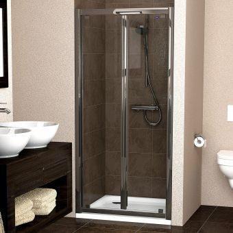 Showerlux Legacy Bifold Door Shower Enclosure