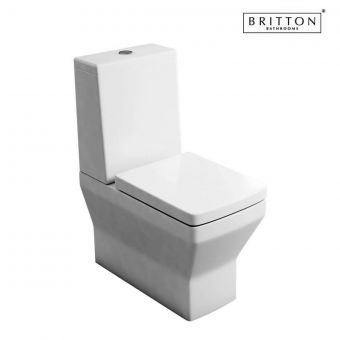Britton Cube S20 Close Coupled Toilet