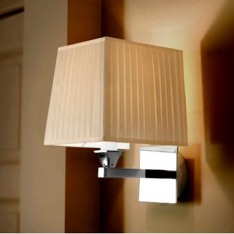 Imperial Astoria Wall Lamp with Fabric Shade