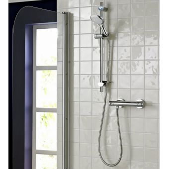 Bristan Artisan Thermostatic Surface Mounted Bar Shower Valve