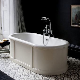 Burlington London Freestanding Bath with Surround