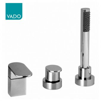 Vado Life 3 Hole Bath Shower Mixer