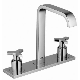Grohe Allure 3 Hole Basin Mixer Tap