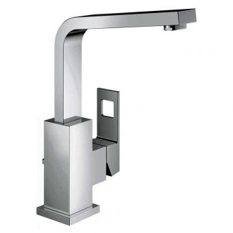 Grohe Eurocube Basin Mixer Tap with Pop-up Waste - 23135000