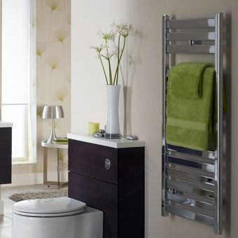 Capricorn Flat Bar Towel Warmer