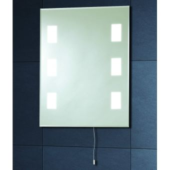 Phoenix Calisto 50x39cm Back Lit Bathroom Mirror
