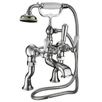 Imperial Crown Lever Bath Shower Mixer