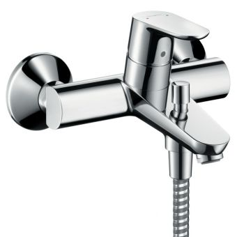 Hansgrohe Focus Wall Mounted Bath and Shower Mixer Tap