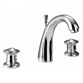 Imperial Gioiello 3 hole Basin Mixer Set