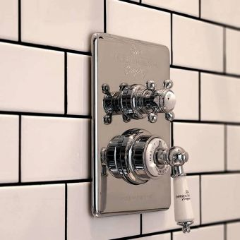 Imperial Bathrooms Concealed Victorian Thermostatic Shower