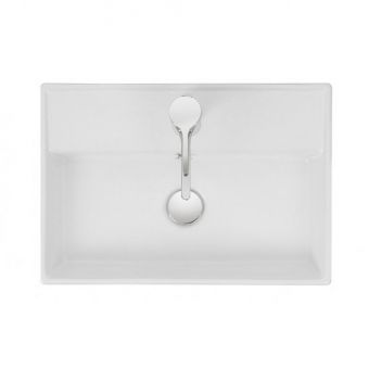 Bauhaus Turin Wall Mounted Bathroom Basin
