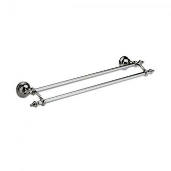 Imperial Avignon Wall Mounted Double Towel Rail 60cm