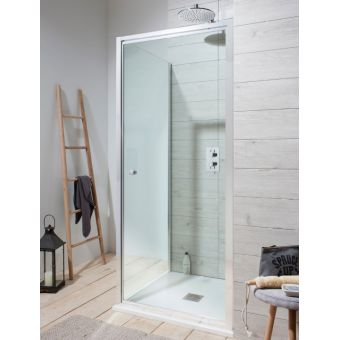 Simpsons Edge Pivot Shower Door