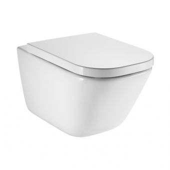 Roca The Gap Wall Hung CleanRim Toilet