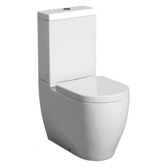 Bauhaus Stream II Close Coupled Toilet