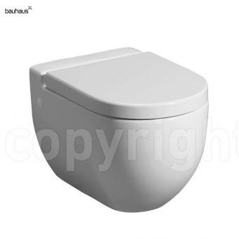 Bauhaus Stream II Wall Hung Toilet