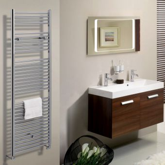 Bauhaus Design Flat Towel Rail