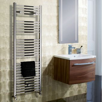 Bauhaus Stream Curved Panel Towel Warmer