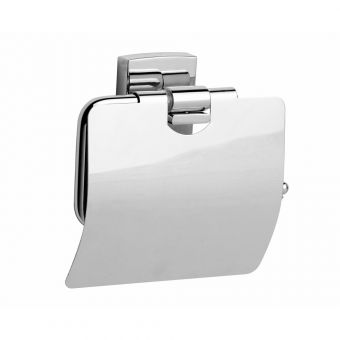 Never Drill Again Klaam Toilet Roll Holder w/Cover