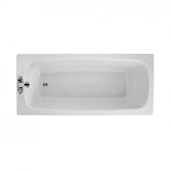 Adamsez Brio Single Ended Bath - BRO/WH078