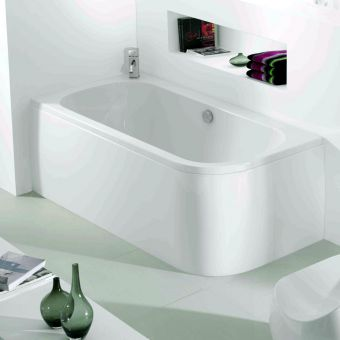 Adamsez Initial Single Ended Corner Bath