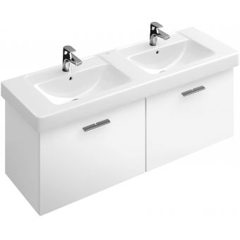 Villeroy And Boch Subway Double Vanity Washbasin Unit