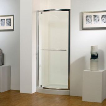Kudos Original Bowed Pivot Shower Door