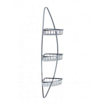 Crosswater Solo Triple Corner Wire Basket