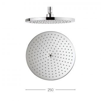 Crosswater Central Fixed Shower Head