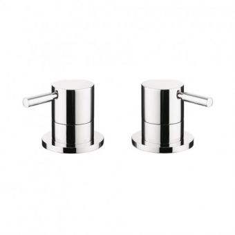 Crosswater Design deck mounted Bath Panel Valves