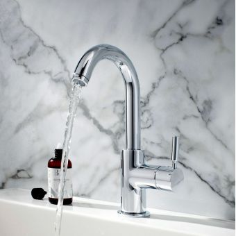 Crosswater Design Basin Monobloc with Side Lever