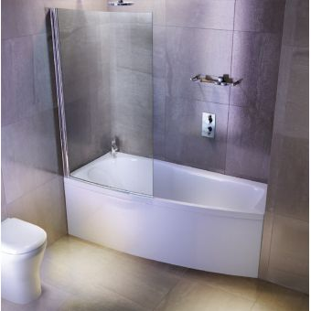 ClearGreen Ecocurve Contemporary Shower Bath