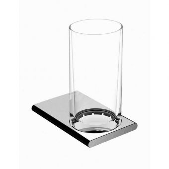 Keuco Edition 400 Crystal Tumbler with Holder