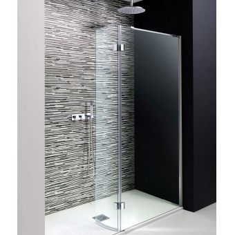 Simpsons Design Walk-in Easy Access Shower with Hinged Panel