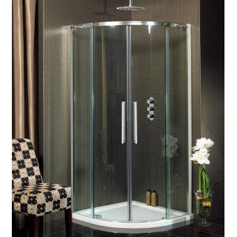 Crosswater (Simpsons) Ten Double Door Quadrant Shower Enclosure