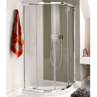 Simpsons Supreme Luxury Curved Quadrant Shower