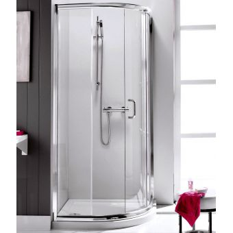 Simpsons Supreme Quadrant Single Door Shower Enclosure